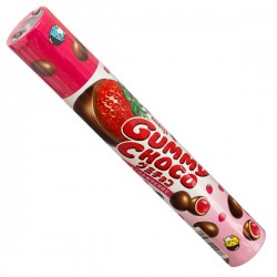 Gummy Choco Tube Strawberry