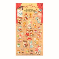 Paper Doll Mate Party Time Stickers