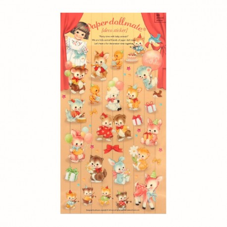 Stickers Paper Doll Mate Party Time