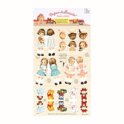 Stickers Paper Doll Mate Index