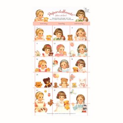Stickers Paper Doll Mate Planner