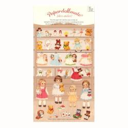 Pegatinas Paper Doll Mate Store