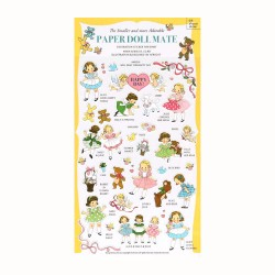 Stickers Paper Doll Mate Diary