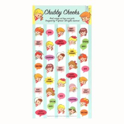 Stickers Chubby Cheeks Planner