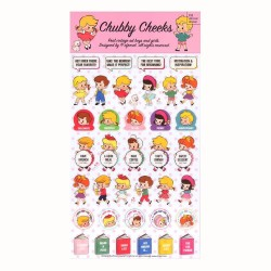 Stickers Chubby Cheeks Deco