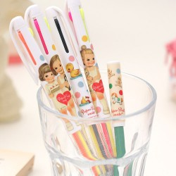 Paper Doll Mate Multicolor Pen