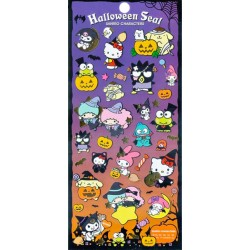 Halloween Characters Stickers