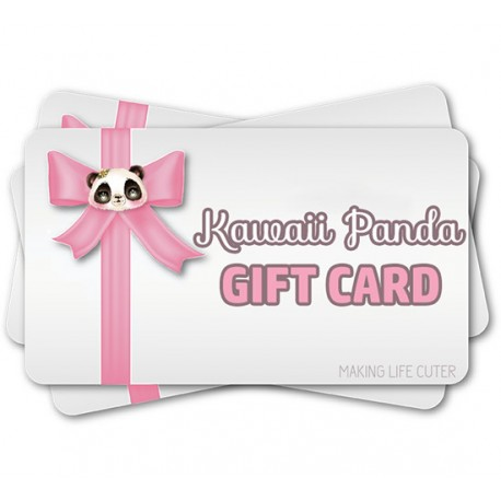 Kawaii Panda Gift Card