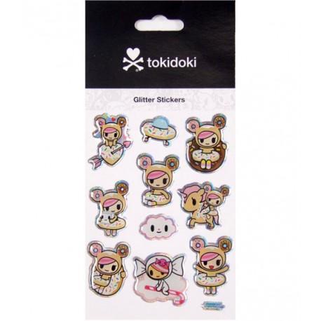Tokidoki Donutella Stickers