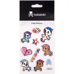 Stickers Puffy Tokidoki Unicorno