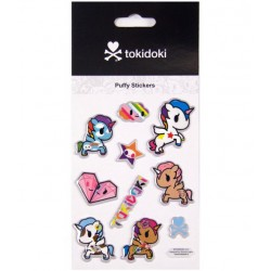 Tokidoki Unicorno Puffy Stickers