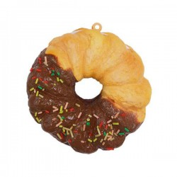 Squishy French Cruller Sprinkled