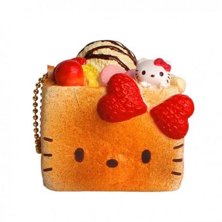 Squishy Hello Kitty Honey Toast