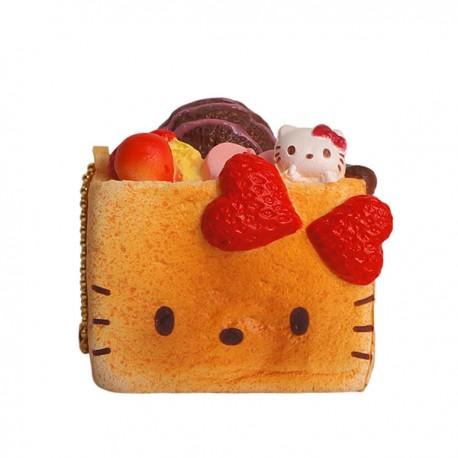 Hello Kitty Honey Toast Squishy