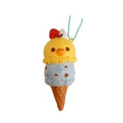 Squishy Kiiroitori Double Ice Cream