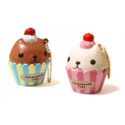 Squishy Kapibara San Cupcake