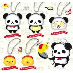 Squishy Ojipan Panda Gashapon