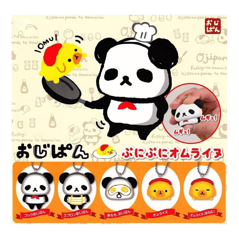 Squishy Pokemon Gashapon : Ojipan Panda Squishy Gashapon - Kawaii Panda - Making Life Cuter