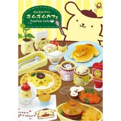 Pompom Purin Cafe Re-Ment