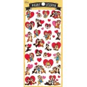 Chip & Dale Heart Stickers