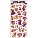 Rapunzel Heart Stickers