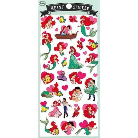 Ariel Heart Stickers