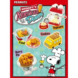 Re-Ment Snoopy American Diner