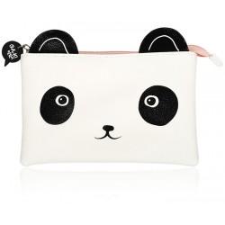 Estuche Cosmético Panda Face
