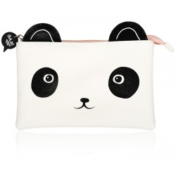 Panda Face Cosmetic Bag