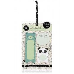 Panda & Bear Sticky Notes
