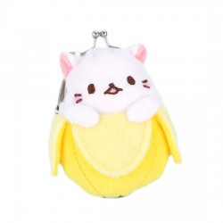 Bananya Kiss Lock Coin Purse