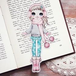 Marcador Libro Ear Muffs Girl