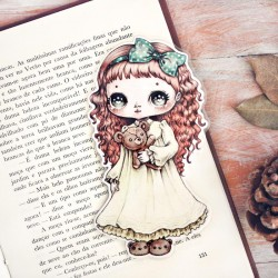 Little Girl Bookmark