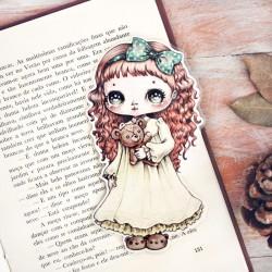 Marcador Livro Little Girl