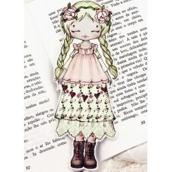 Marcador Livro Mori Girl