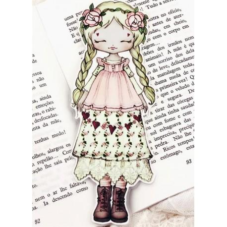 Mori Girl Bookmark