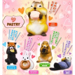 Mini Figura Pastry Animal Gashapon