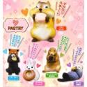 Pastry Animal Mini Figure Gashapon