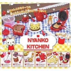 Nyanko Kitchen Miniatures Gashapon