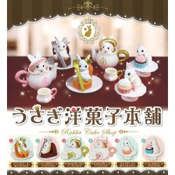 Miniaturas Rabbit Cake Shop Gashapon