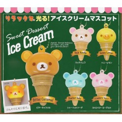 Rilakkuma Ice Cream LED Charm Gashapon