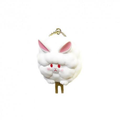 Cotton Candy Animal Keychain Gashapon