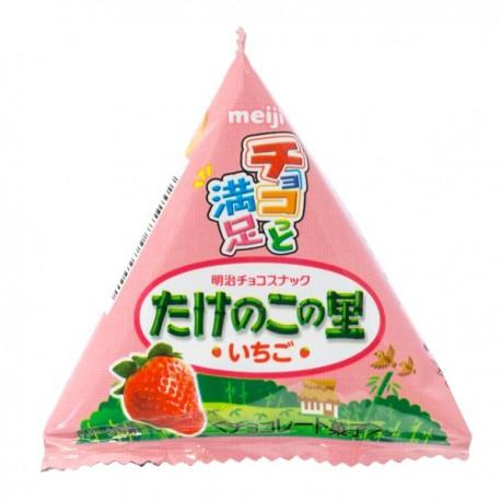 Biscoitos Bambu Takenoko Mini Pack Morango
