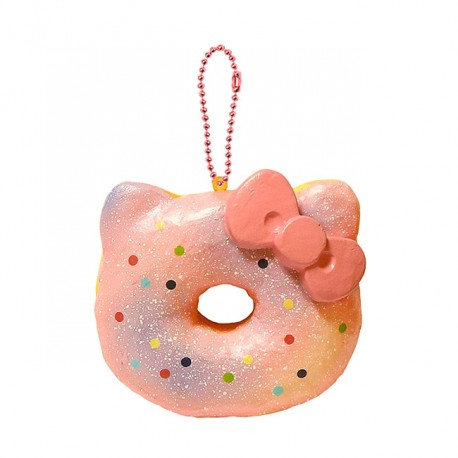 Hello Kitty Donut Squishy Size : Hello Kitty Big Donut Squishy - Kawaii Panda - Making Life Cuter