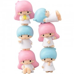 Little Twin Stars Nosechara Figures Set