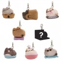 Pusheen Keychain Places Cats Sit Series