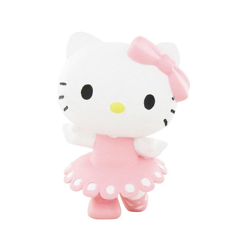 Hello kitty ballerina mini figure kawaii panda making - Ballerine hello kitty ...