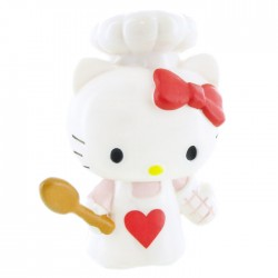 Mini Figura Hello Kitty Chef