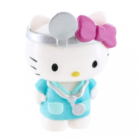 Mini Figura Hello Kitty Doctor
