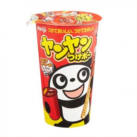 Yan Yan Panda Biscuit Sticks Chocolate